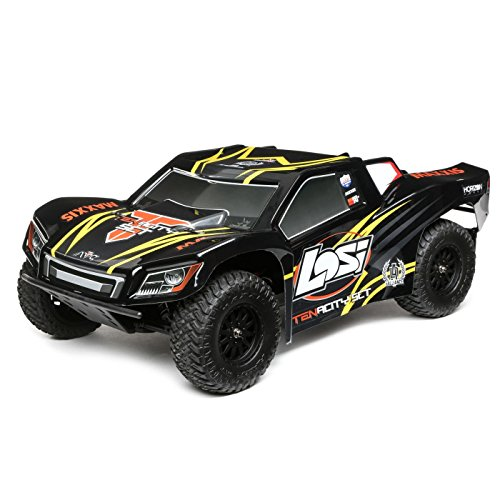 - Losi LOS03017T1 22S ST Brushless, RTR AVC : 1/10 2WD, Red/Yellow