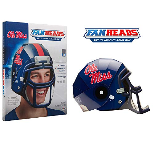 Fan Heads 07886-PDQ Ole Miss Rebels Helmet