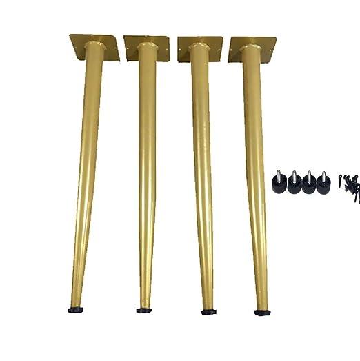 Furniture LE Patas De Mesa De Tamaño Opcional (Oro): Juego De 4 ...