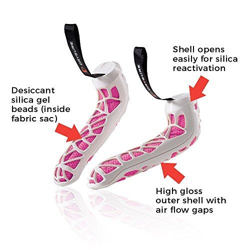 DRYSURE Active Hiking Equipment, White/Pink, Large by DRYSURE (Image #2)