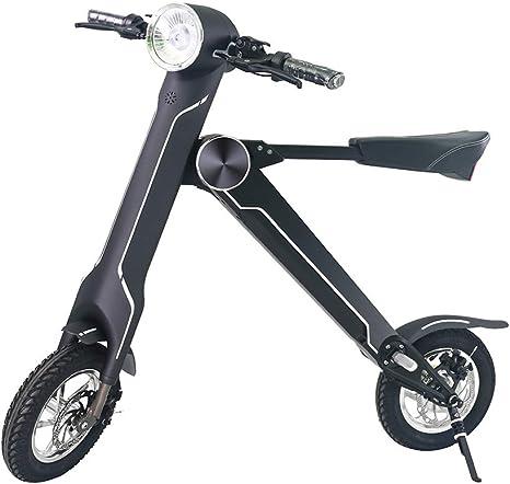 NAMENLOS Moto eléctrica Plegable con Altavoz Bluetooth, Bicicleta ...