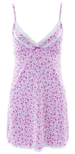 laura-ashley-womens-pink-rosebuds-chemise-m