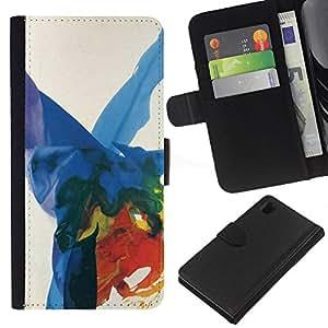 KingStore / Leather Etui en cuir / Sony Xperia Z1 L39 / ;