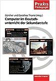 img - for Computer im Deutschunterricht der Sekundarstufe. book / textbook / text book