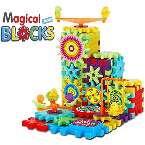 Planet of Toys Boys and Girls 81 Pcs Building Blocks for Kids