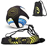 #7: BROTOU Hands Free Kick Solo Soccer Trainer, Football Agility Training for Kids and Adults-Fits Ball Size 3, 4, and 5