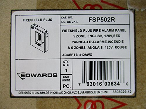 Edwards FSP502R - Conventional Fire Alarm Control Panel