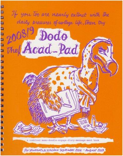 Download Dodo Acad-pad Diary 2008/09 2008/09 pdf epub