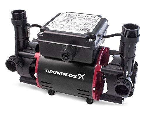 Grundfos 98950216 STR2-1.5 Bar Twin Impeller Shower Pump