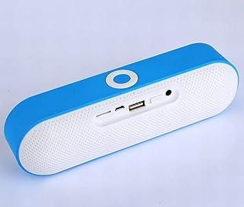 GZ Bluetooth Audio Inalámbrico Bluetooth Altavoz Subwoofer Tarjeta ...