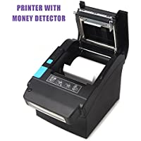 80mm Thermal Receipt POS Printer MUNBYN With US Dollar Currency Detector Professional Payment Machine for Home Business, Shop, Supermarket