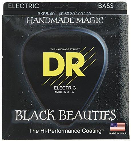 DR Strings BKB5-40 Beauty 5 String Bass 40-120, Black