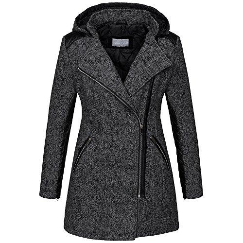 Selection laine en Manteau Golden chin Brands d'hiver chaud B272 1Sqx4gw47