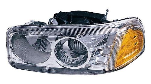 Depo 335-1114L-AS GMC Yukon Denali/Sierra Denali Driver Side Replacement Headlight Assembly