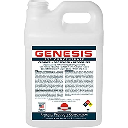 Genesis 950 2.5 Gallon + Spigot - Professional Strength Concentrate, Pet Odor Eliminator, Pet