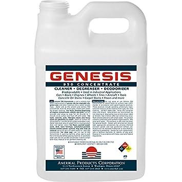 Genesis 950 Limpiador Concentrado para alfombras, Pet Quitamanchas y todos los limpiador - 2.5 galones cubo: Amazon.es: Hogar
