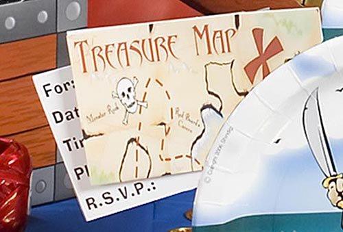 Shindigz Pirate Map Invitations]()