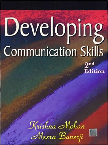 krishnamohan meera banerji developing communication skills