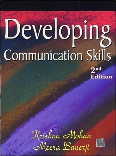 file developing communication skill by krishna mohan mera benarji