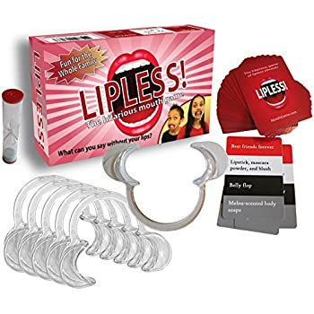 Original Lipless Hilarious Mouth Game Family Pack