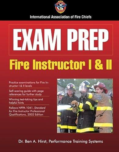 exam prep fire instructor i ii exam prep fire instructor 1 2 rh amazon com Ifsta Practice Tests Ifsta Firefighter Test Questions