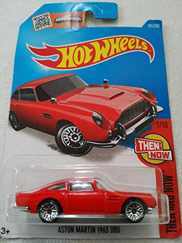 Hot Wheels 2016 Then and Now Aston Martin 1963 DB5 101/250, (Aston Martin Series)