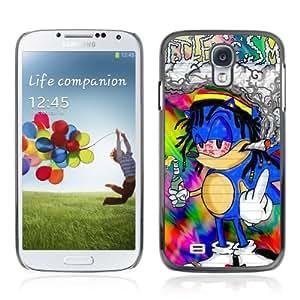 CQ Tech Phone Accessory: Carcasa Trasera Rigida Aluminio Para Samsung Galaxy S4 i9500 - Funny 420 Rasta Sonic