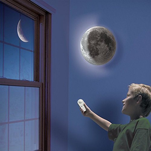 KAPATA Kids Toys Night Lights-Moon In My Room Remote Control Sleeping Night Light Bedroom Lamp for Children Present