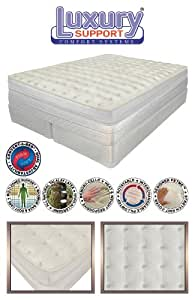 "California KING 15"" Innomax Medallion ADJUSTABLE SLEEP AIR BED SET With Foundation"