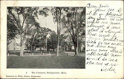 The Common Bridgewater, Massachusetts Original Vintage - Bridgewater Commons