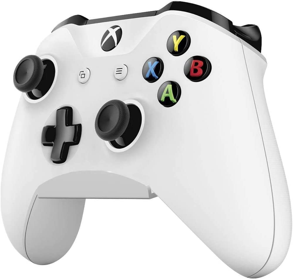 Skywin Controller Wall Mount - Compatible with Xbox One, Xbox One S, Xbox One X, Xbox One Elite, or Nintendo Switch Pro Controllers (White) (1-Pack)