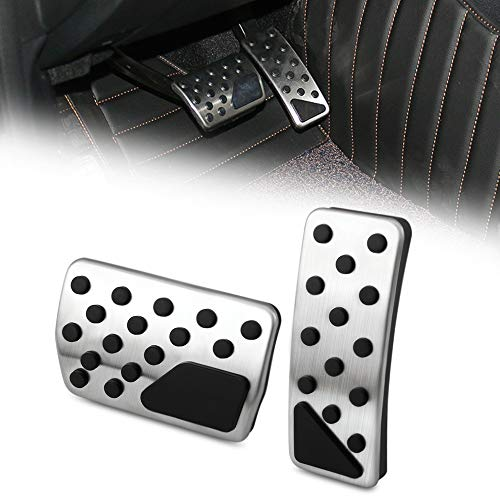 Dodge Challenger//Charger 2008-2016 Bright Pedal Pad Cover Kit-Mopar OEM