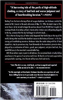 Jon Krakauer's Into Thin Air: Summary & Theme