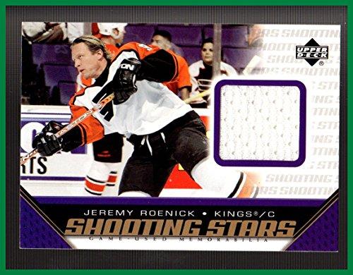 2005-06 Upper Deck Shooting Stars GAME USED JERSEY #SJR Jeremy Roenick PHILADELPHIA FLYERS LOS ANGELES KINGS