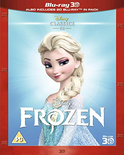 Frozen [Blu-ray 3D + Blu-ray] [Region Free] -