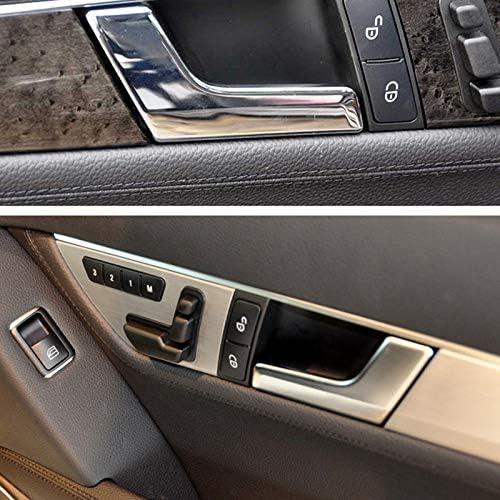 CUHAWUDBA Poign/éE de Porte de Voiture Avant Int/éRieure pour Medes Mercedes W204 X204 2047201171 Gauche
