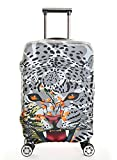 Myosotis510 Funny 3D Animals Luggage Protector Suitcase Cover 18-32 Inch