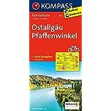 Ostallgäu - Pfaffenwinkel: Fahrradkarte. GPS-genau. 1:70000 (KOMPASS-Fahrradkarten Deutschland, Band 3124)