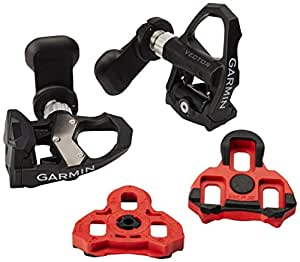 Garmin Vector 2 Power Meter Pedals Black/Silver, 12-15mm Crankarm Width