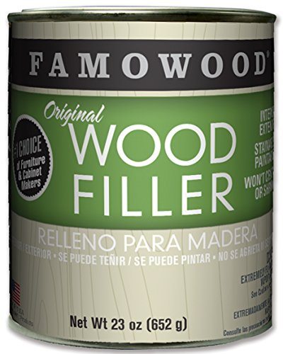 FamoWood 36021130 Original Wood Filler - Pint, Pine by FamoWood