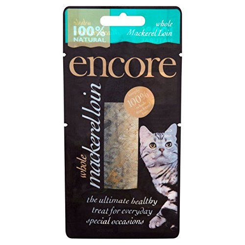 Encore Hamster (Encore Mackerel Loin Cat Treat 30g (PACK OF 4))