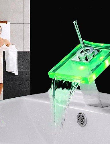 Zeitgenössisch - LED/WasserfaÖl - Messing ( Chrom )