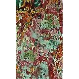 nuLOOM 200MRTU12A-508 Handmade Abstract Multi Faux Silk/Wool Rug (5-Feet X 8-Feet)