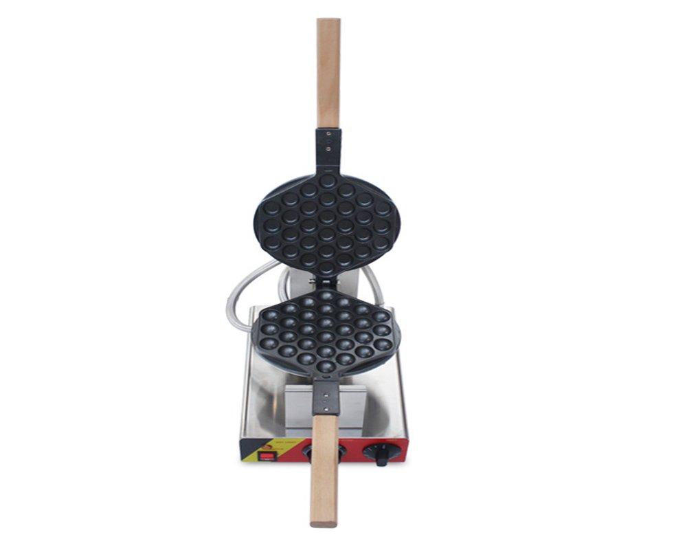 110V/220V Egg Puff Bubble Electric Oven QQ Egg Waffle Maker Baking Machine 1kw (110V USA plug) by JYNbaking (Image #4)