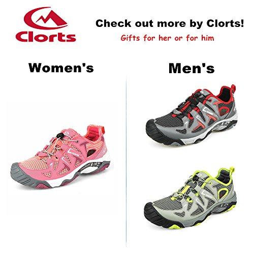 Clorts Womens Water Shoe Punta Chiusa Sandalo Da Trekking Ad Asciugatura Rapida 3h027 Rosa