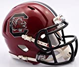 South Carolina Gamecocks Riddell Speed Mini Football Helmet - Cardinal Shell