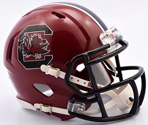 South Carolina Gamecocks Riddell Speed Mini Football Helmet - Cardinal Shell
