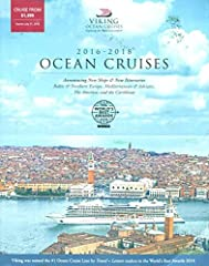 Here for your delectation is the SPECTACULAR AND RARE------------------VIKING OCEAN CRUISES 2017-2018 /BALTIC & NORTHERN EUROPE /MEDITERRANEAN & ADRIATIC /THE AMERICAS AND THE CARIBBEAN /ITINERARIES /GORGEOUS ILLUSTRATIONS+++ DON'T LE...