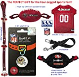 NFL San Francisco 49Ers PET GIFT BOX with 2