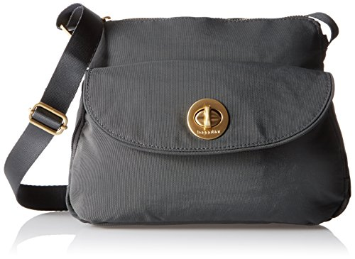 Baggallini Provence Crossbody, Charcoal (The Best Of Provence)